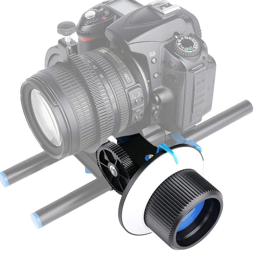 Serounder Follow Focus Quick Type Focalizer Focusing Follow with Gear Ring Belt Photographic Equipment for DSLR Camera/Camcorder/Video Cameras by Serounder