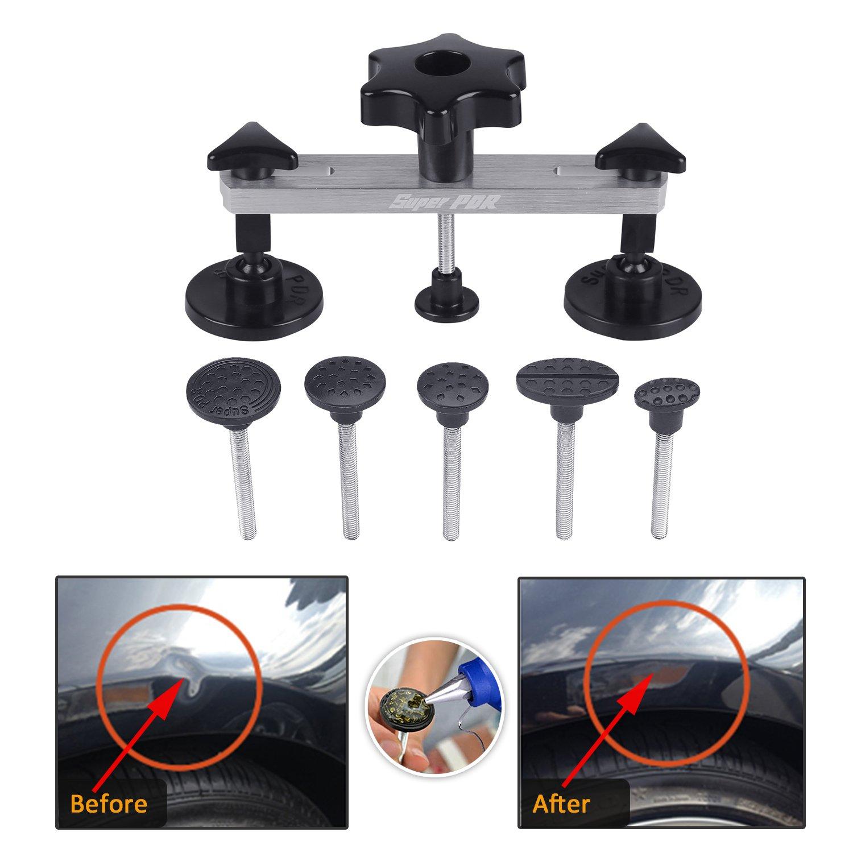 FLY5D® DIY Car Body Dent Removal Repair Tools Pops a Dent & Ding Car Auto Damage Repair Puller Tool Kits