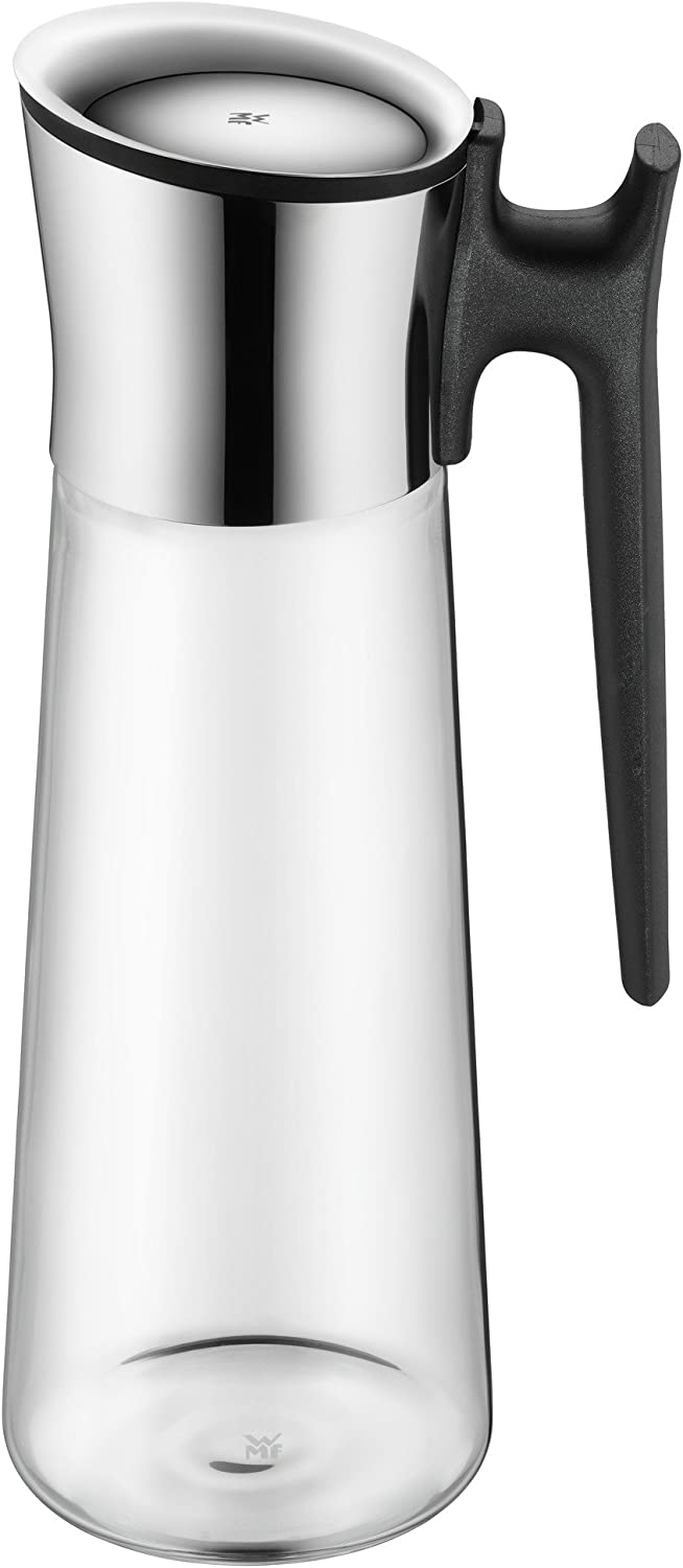 WMF Basic Water Decanter 1.5L Height 32.7cm Close-Up Stopper Glass Cromargan/® Stainless Steel
