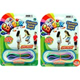 JA-RU Chinese Jump Rope or Kids (2 Pack) Jumping Game I | Girls Party Favors Skipping Rope | Plus 1 Bouncy Ball. 733-2p