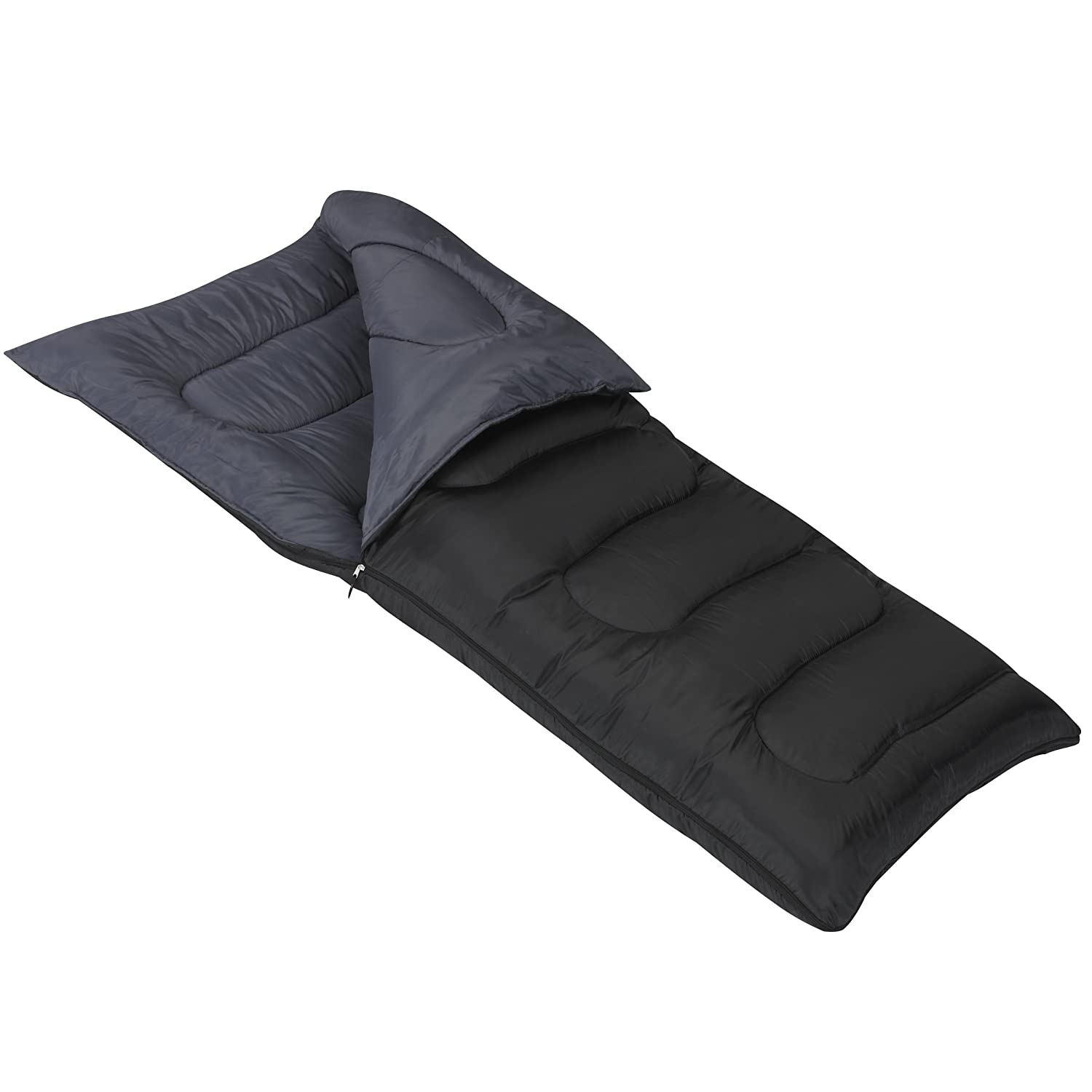 Mountain Trails Allegheny 25-Degree Sleeping Bag, Black