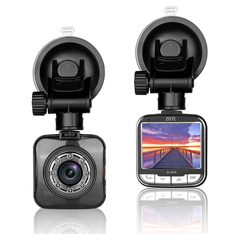 Full HD 1080P Caméra Dashcam pour voiture ; Enregistreur vidéo DVR avec grand-angle de 170 degrés, écran LCD 2 pouces, WDR, détecteur de mouvement, caméra de stationnement, enregistrements en boucle, vision nocturn
