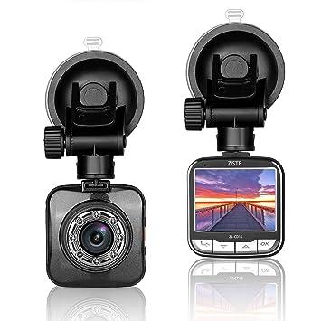 Dashcam Full HD, Cámara de vídeo de 1080P, Grabadora DVR con 170 grados de