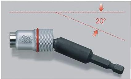 Profesional portapuntas magnético Destornillador ángulo de Bit Plana ...