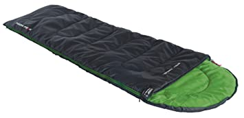 High Peak Easy Travel Saco de Dormir, Rosa (Antracita) / Verde, 220