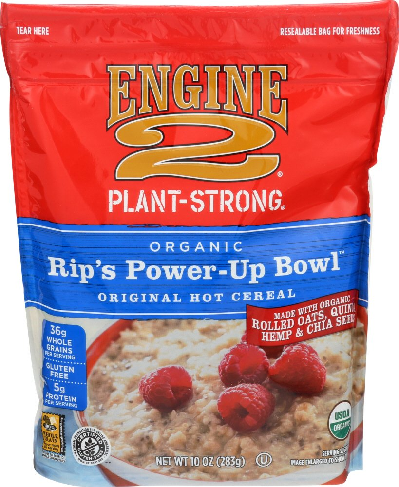 Engine 2, Organic Rip's Power-Up Bowl Original Hot Cereal, 10 oz