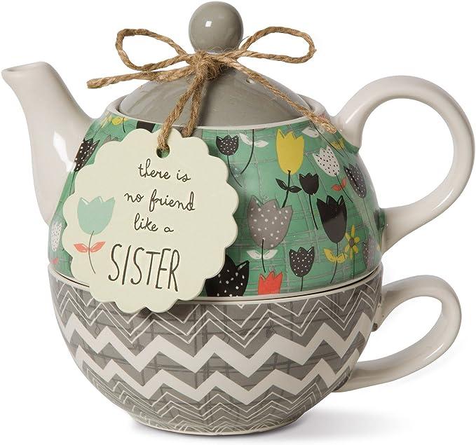 Bloom Sister Ceramic Tea Set