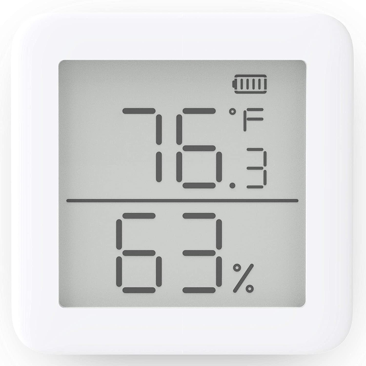 SwitchBot Thermom/ètre Hygrom/ètre Alexa iPhone Android Wireless Temperature Humidity Sensor with Alerts