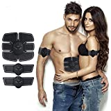 Abs Trainer EMS Abs Trainer Muscle Toner Belt EMS Training the Body Ultimate Abs Stimulator For Abdomen/Arm/Leg ; Workout Portable Home/Office Workout Equipment Support Men&Women