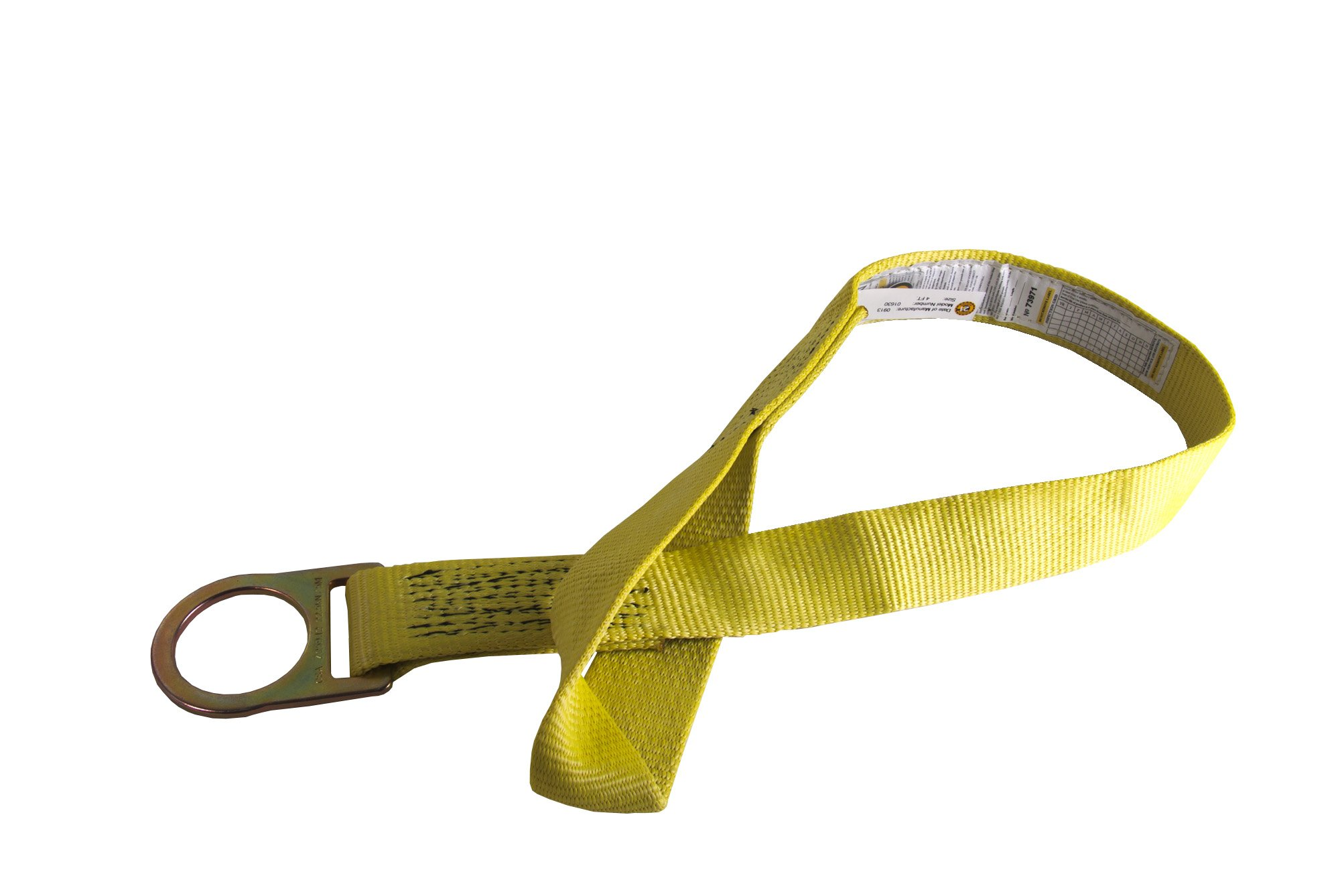 Guardian Fall Protection 01620 XARM-72 6-Foot Cross Arm Strap with Pass-Thru Loop