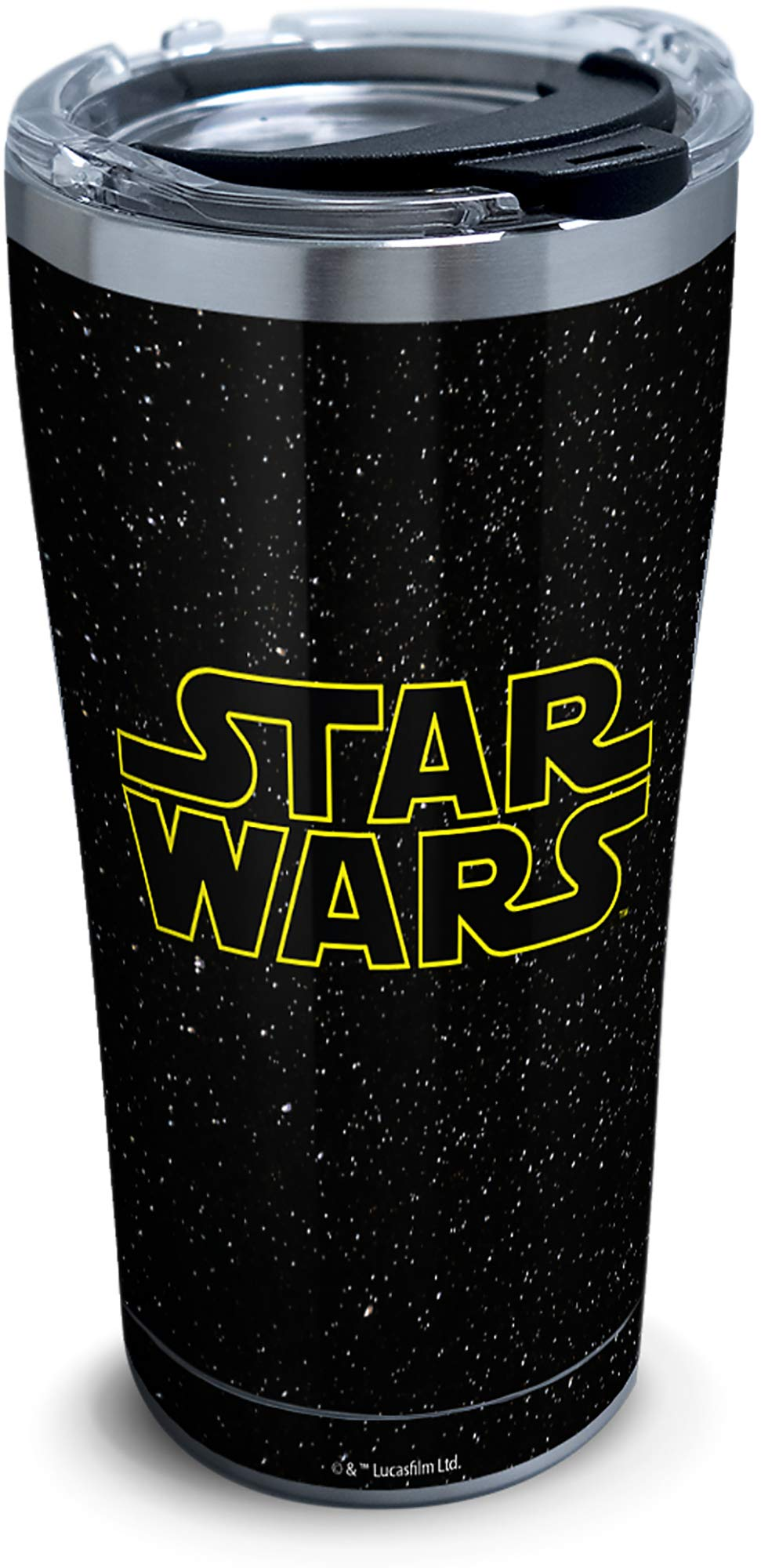 Tervis 1338791 Star Wars Classic 18/8 Stainless Steel Insulated Travel Tumbler & Lid, 20 oz, Silver by Tervis