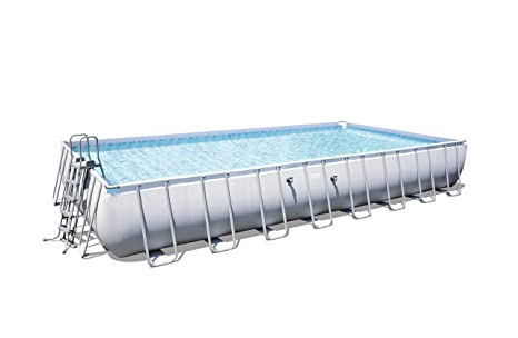 Bestway 56479 - Piscina (Piscina con anillo hinchable, Rectangular ...