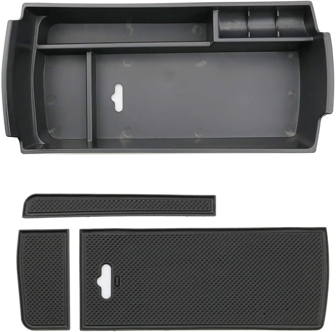 LFOTPP Compatible with 3008 5008 GT Car Front Door Handle Armrest Storage Box Container Pack of 2