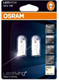 Osram 2850WW-02B LEDriving LED Retrofit W5W Luz de interior 4000K 80%, Blister Doble
