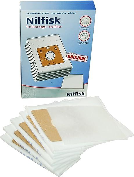 Nilfisk 78602600 - Bolsas de papel para aspiradora: Amazon.es: Hogar