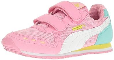 71dda1e727 Amazon.com | PUMA Cabana Racer Mesh V Kids Sneaker (Toddler/ Little ...