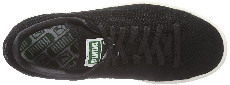 Puma Suede Classic Classic Classic + Mod Heritage Unisex-Erwachsene Sneakers Schwarz (schwarz-whisper Weiß 02) 7e0716