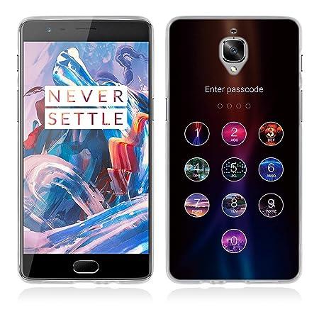OnePlus 3 Hülle, Fubaoda Humorvoll besonderen Stil TPU Case Schutzhülle Silikon Case für OnePlus 3 (1+3)