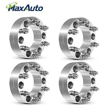 MaxAuto - Separadores de ruedas 6 x 14 cm, 50 mm, adaptador de rueda