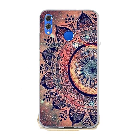 codice promozionale 292a0 4eeb2 Amazon.com: MVNTOO for Huawei Honor 8X Case Cover 6.5
