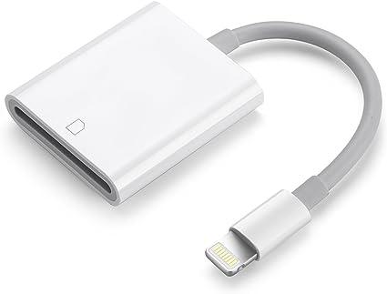 peut on mettre une carte sd dans un iphone Adaptateur SD lecteur de carte SD compatible avec iPhone XS, XS