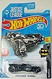 Hot Wheels Batman Series 1/5 DC Justice League Batmobile Toy Car(Multicolour)