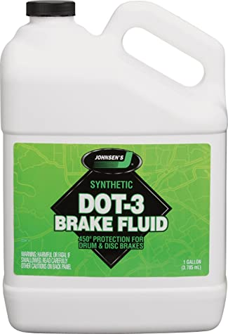 Johnsen's 2234 Premium DOT-3 Brake Fluid - 1 Gallon