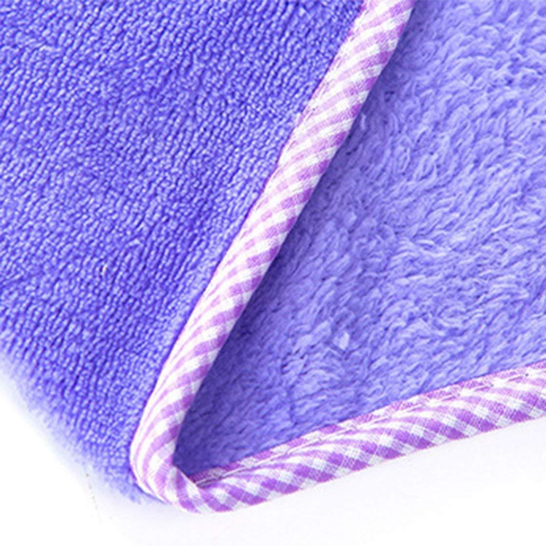 Jessicadaphne Visage Souriant Mignon accroch/é des Serviettes de Main Tissu Absorbant de Serviette de Cuisine de Serviette douatine de Corail
