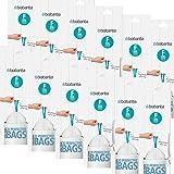 Brabantia 245305Sacchetti per rifiuti 20L Slim Line, Codice F, 20pezzi Pro Rotolo