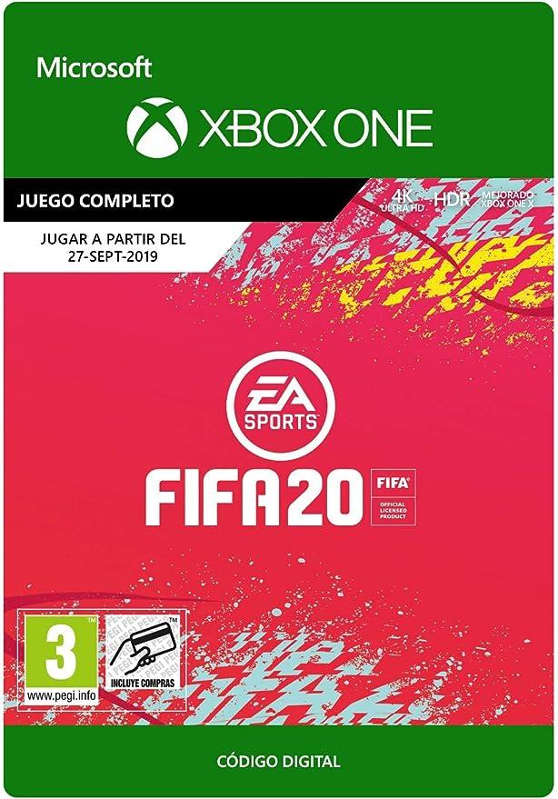 FIFA 20 - Xbox One - Código de descarga: Amazon.es: Videojuegos