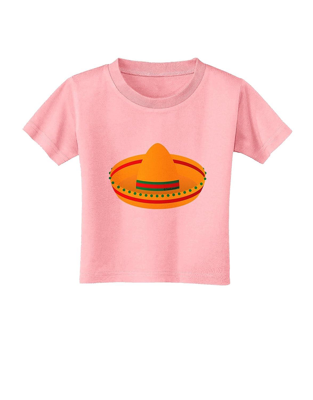 TooLoud Sombrero Design Toddler T-Shirt