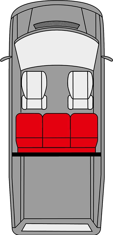 Walser 11463 Sitzbez/üge f/ür VW T5 Einzelsitz vorne ma/ßgefertigt ab Baujahr 09//2009 Heute Autositzbez/üge aus Kunstleder