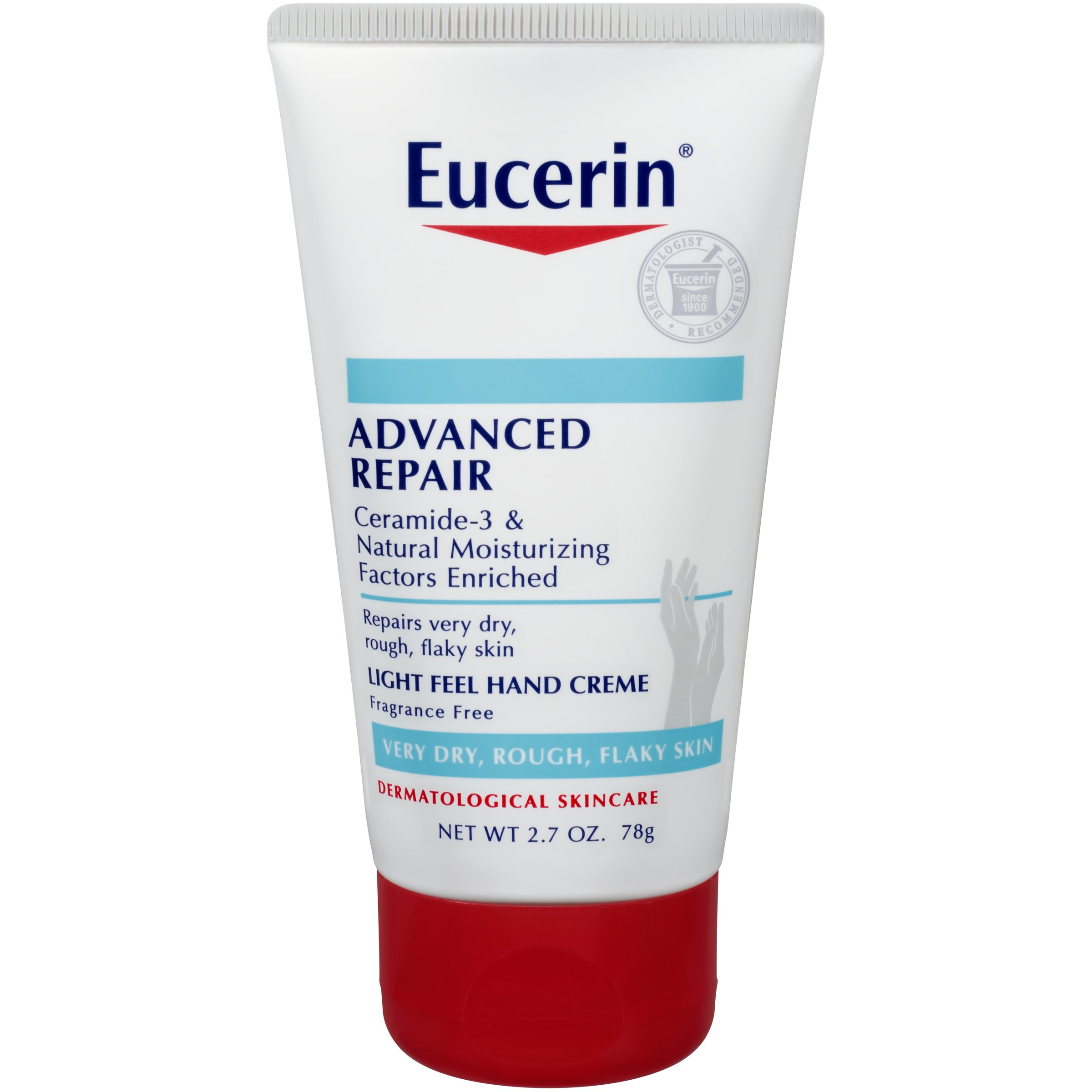 Eucerin Advanced Repair Hand Creme, 2.7 Ounce (Pack of 3)