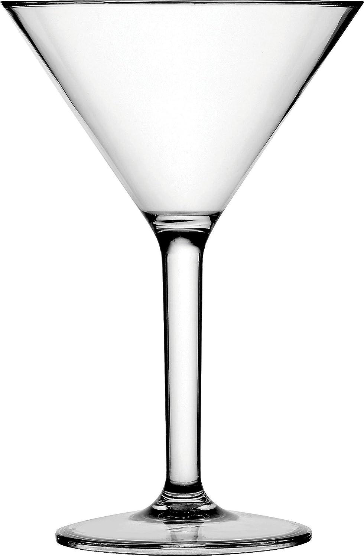 Circleware Event Glasses Set of 4, 10 oz, Martini
