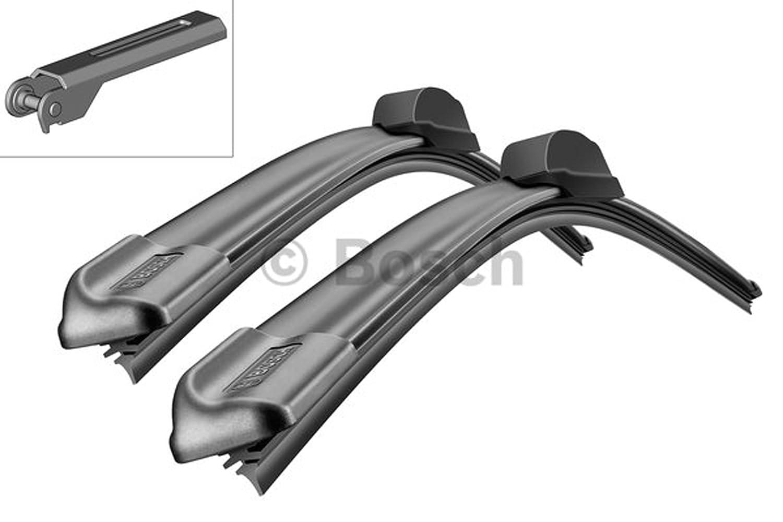 Bosch Aerotwin A933S 3397118933 Limpiaparabrisas 550/550 + 2 x Gelan para limpiaparabrisas, - Set [fop del paquete]: Amazon.es: Coche y moto