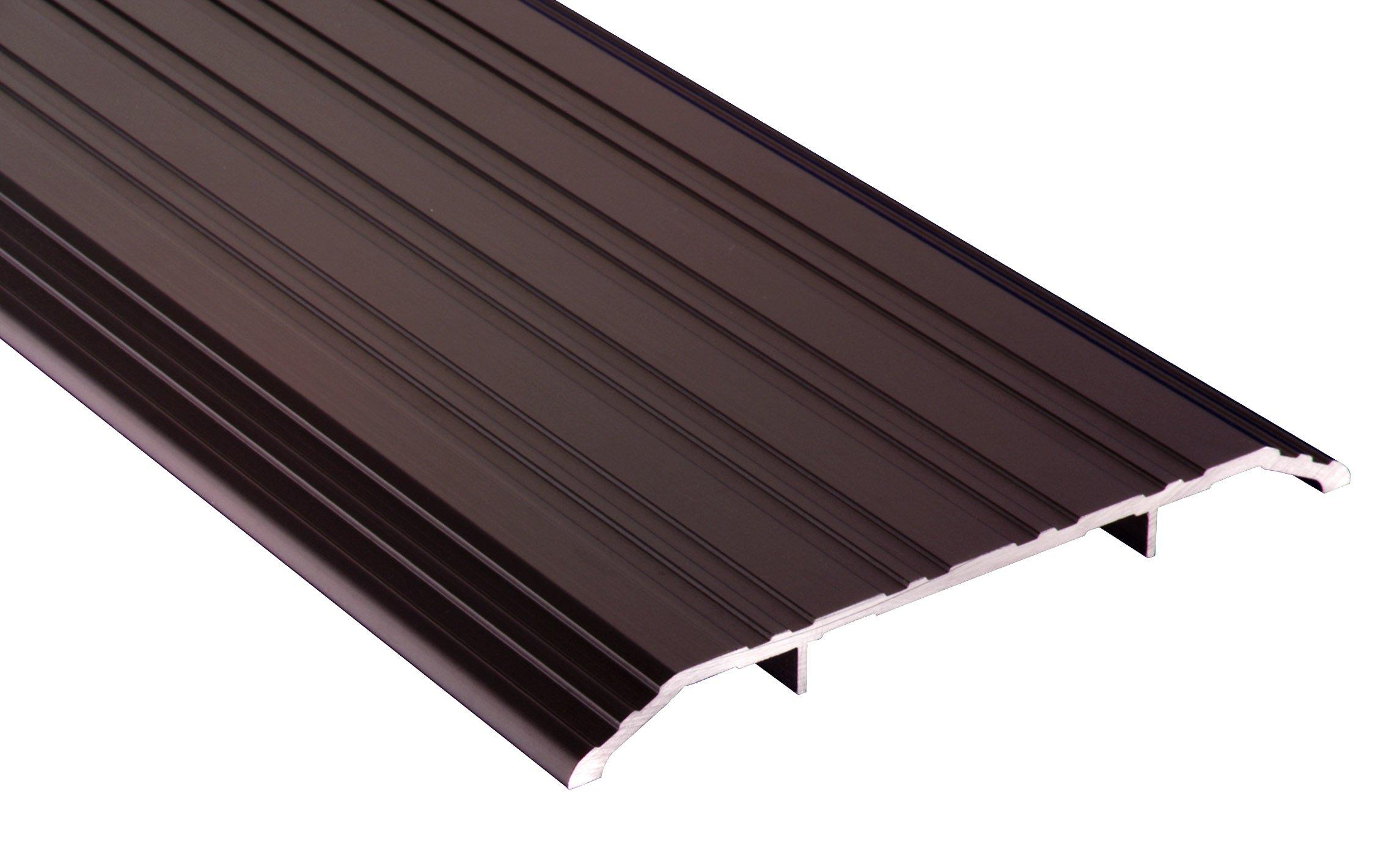 Pemko 085569 172D36 Saddle Threshold, Dark Bronze Anodized Aluminum, 5'' Width, 36'' Length, Aluminum by Pemko