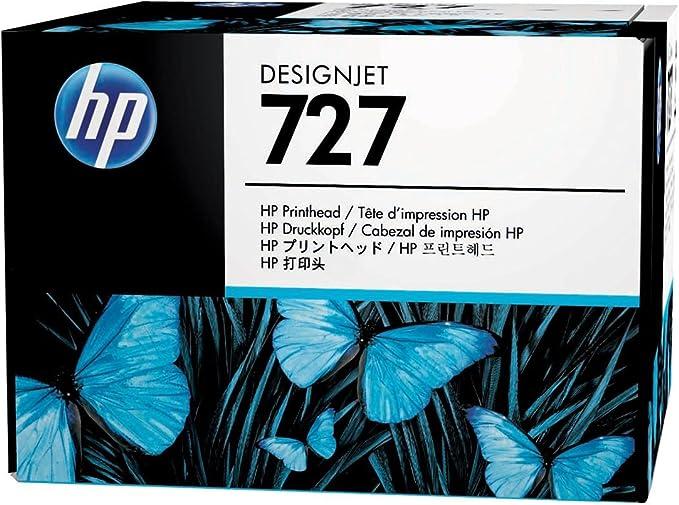 HP B3P06A Original cabezal de impresión 727 Designjet 6-Farben: Hp: Amazon.es: Electrónica