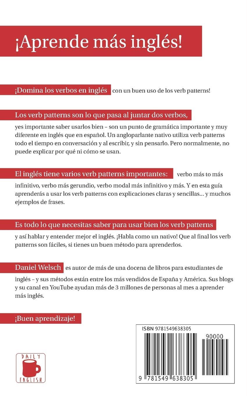 Buy El Pequeño Libro De Los Verb Patterns Cómo Usar Los