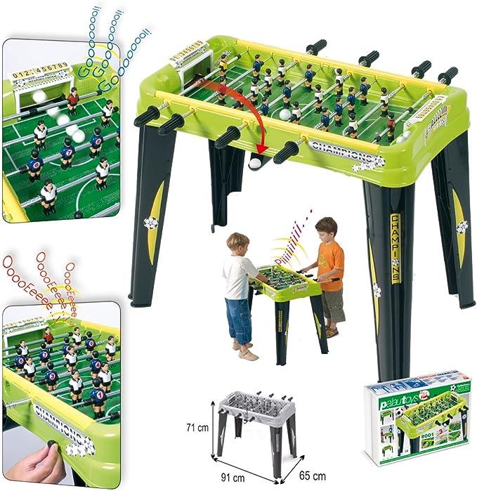 Palau - Futbolin Electrico Con 3 Sonidos: Amazon.es: Juguetes y juegos