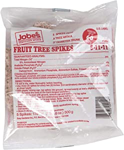 Jobes Fertilizer Fruit Tree Spikes 17.6 OZ (500g)