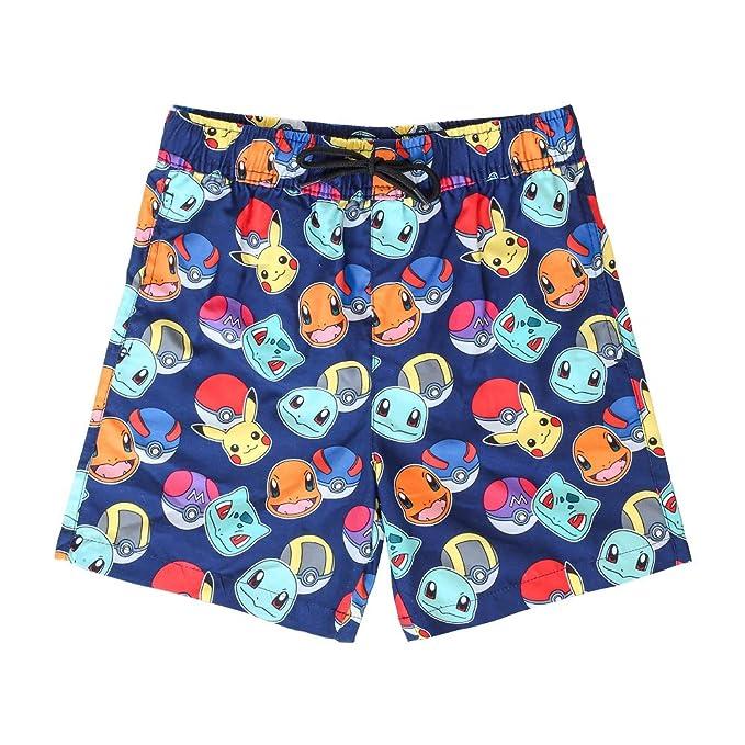 Pokèmon Pantalones Cortos Pantalones Cortos De Natación para ...