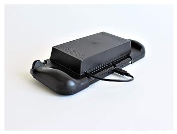 Amazon   SWITCH用モバイルバッテリー収納グリップ [上越電子工業] 充電しながらPLAY   周辺機器・アクセサリ
