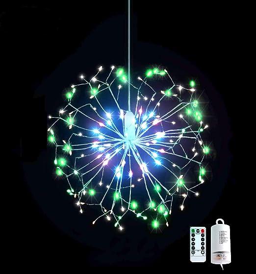 Christmas Light Balls.Led Starburst Multicolor Ball Of Lights Christmas Light Balls Multicolor Explosion Star 198 Total Lights Multicolor Twinkle Light