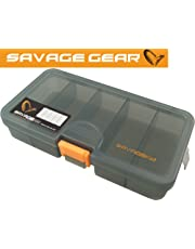 Savage Gear Lure Boxes - Pike Perch Zander Bass Wrasse Spinners Fishing Tackle