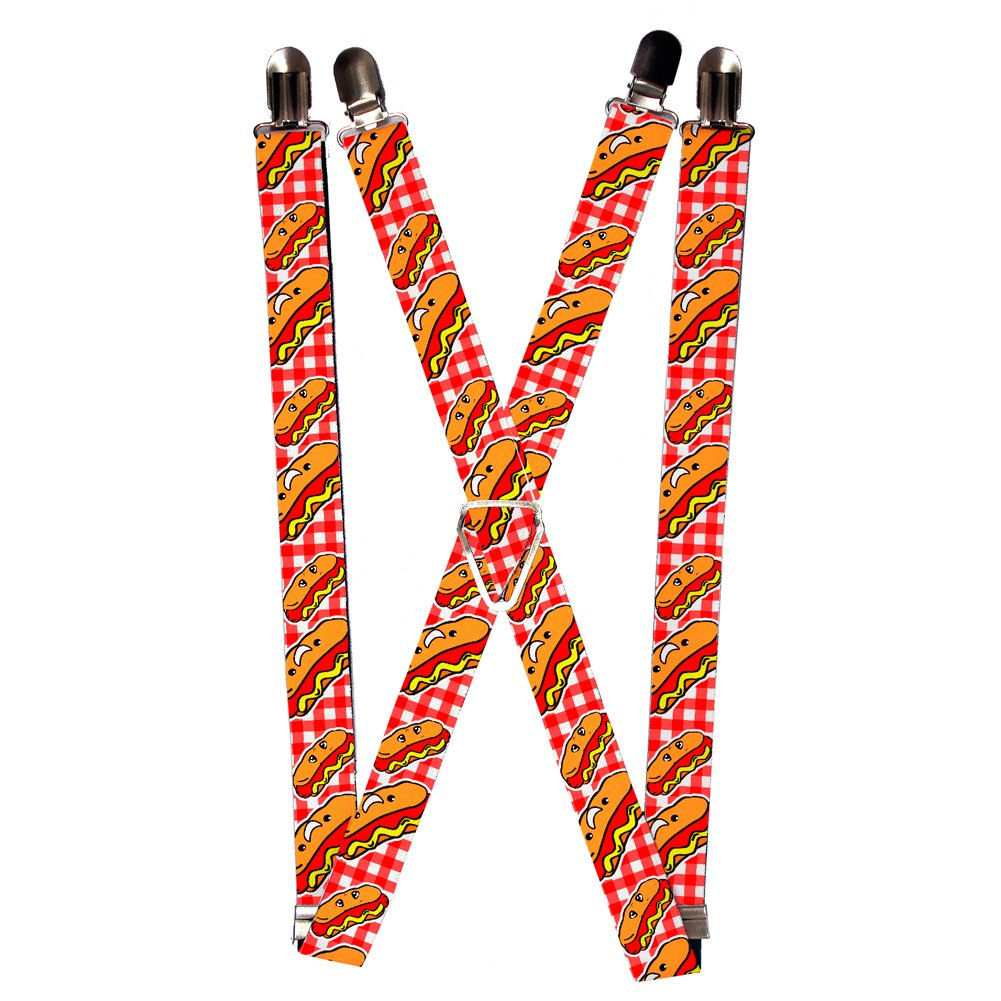 Buckle-Down Suspender - Hot Dogs SP-W30860