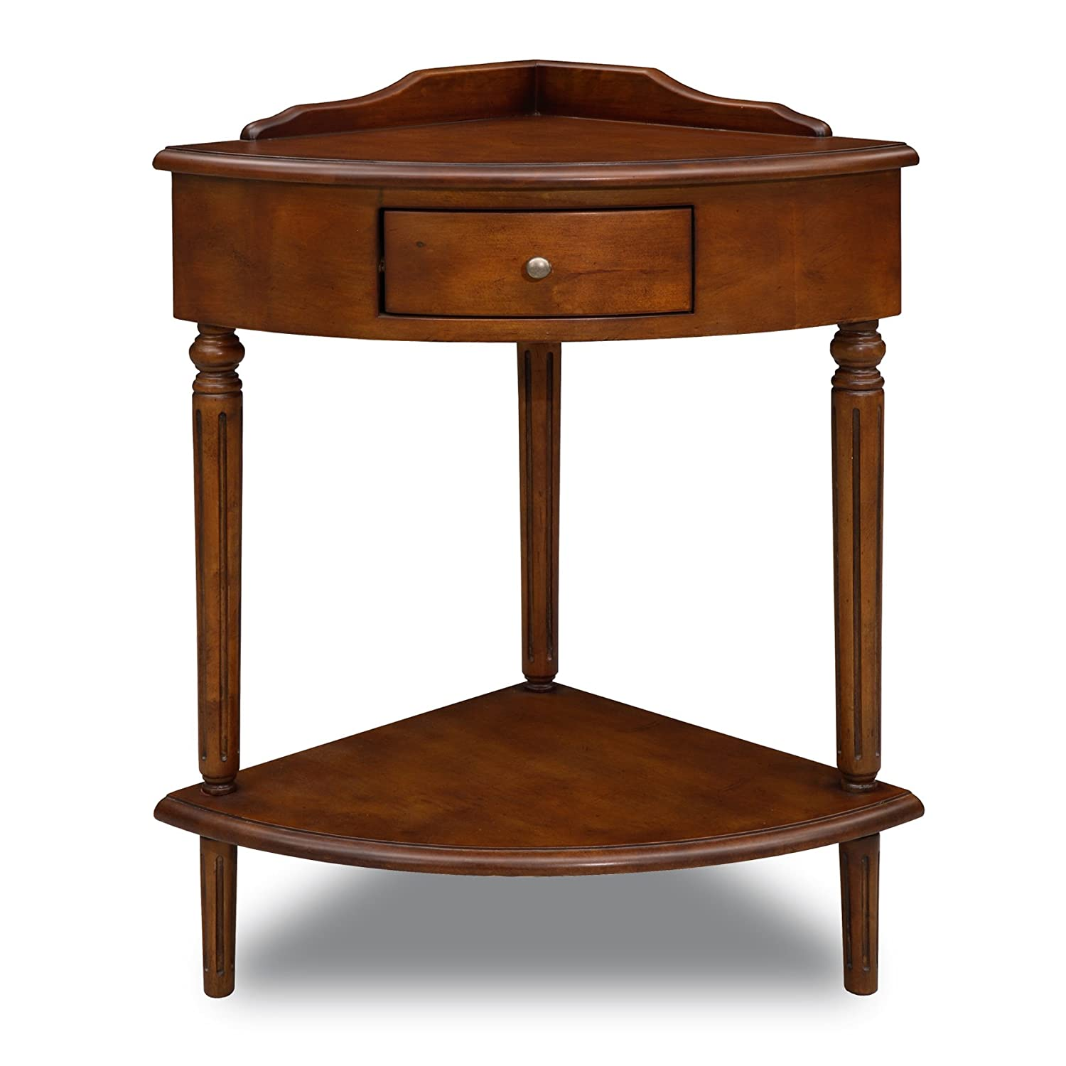 Amazon.com: Leick Corner Accent Table: Kitchen & Dining