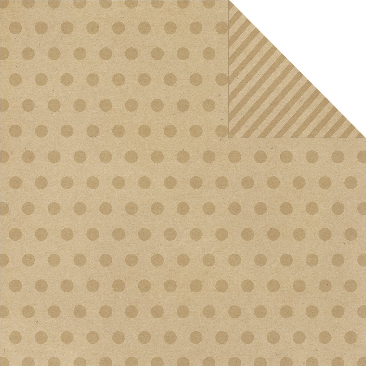 Say Cheese Double-Sided Cardstock 12 X12 -Kraft Dots Stripe Simple Basic B00F4VRNNM | Tragen-wider
