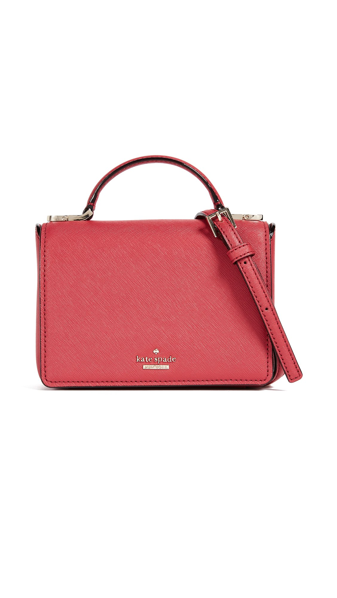 Kate Spade New York Women's Cameron Street Hope Mini Top Handle Bag, Rosso, One Size