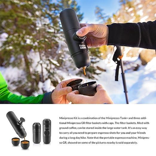WACACO Minipresso Kit, accesorio para la máquina de café espresso portátil Minipresso GR: Amazon.es: Hogar