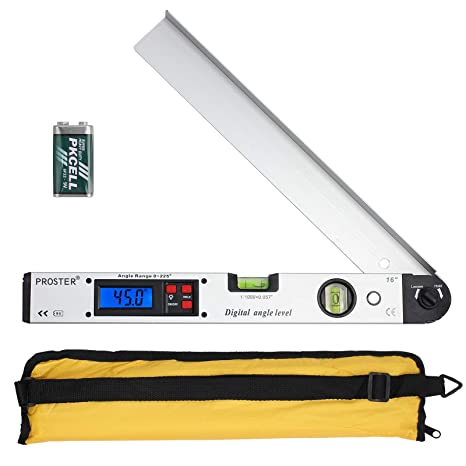Digital Angle Protractor Finder Gauge /& Spirit Level